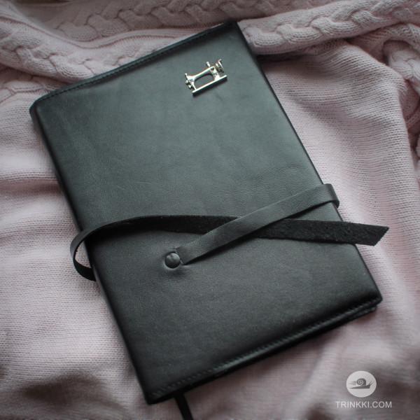 Ежедневник Рукодельницы, кожаный блокнот